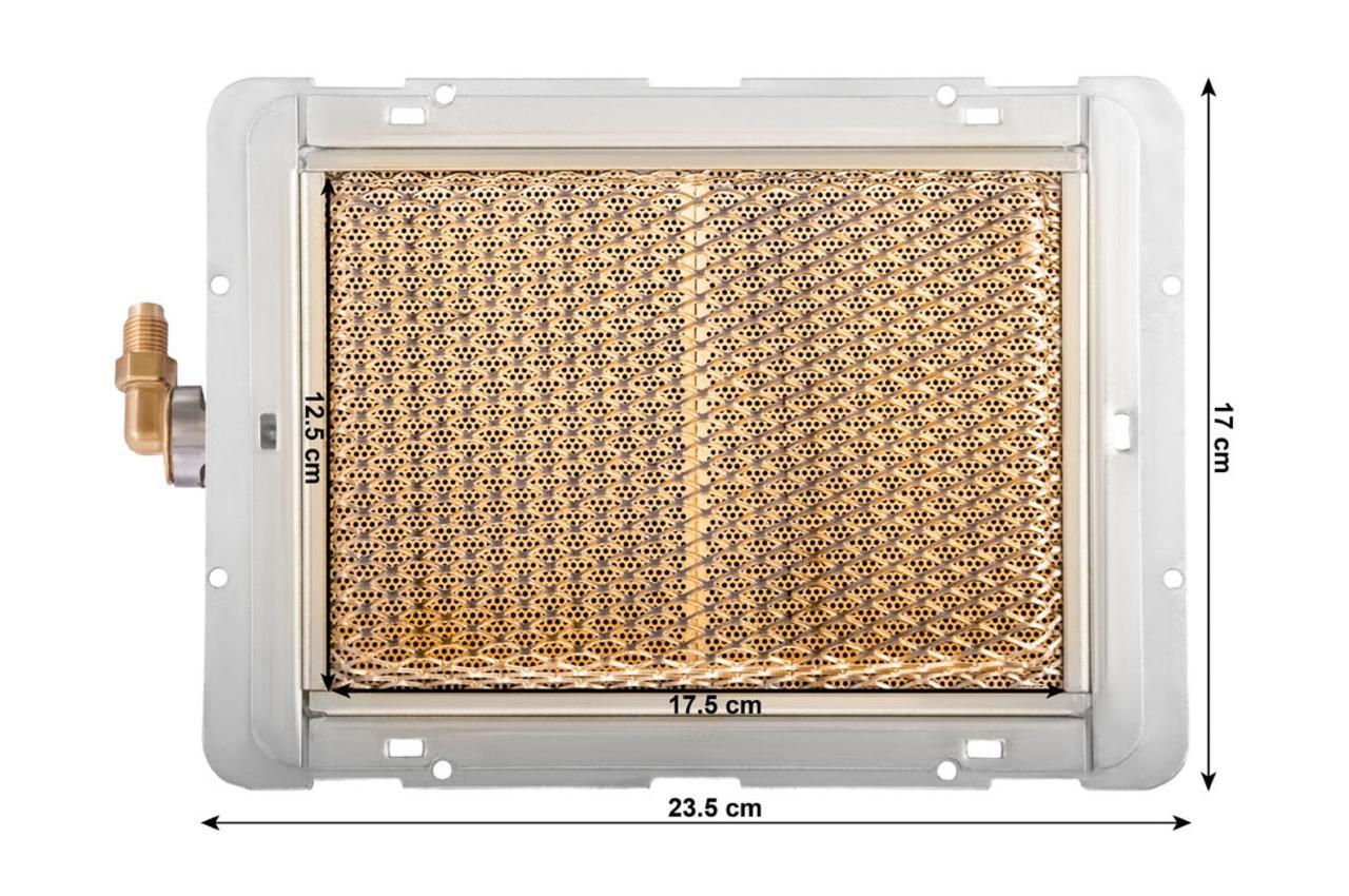 Газовая инфракрасная горелка Vita - керамическая