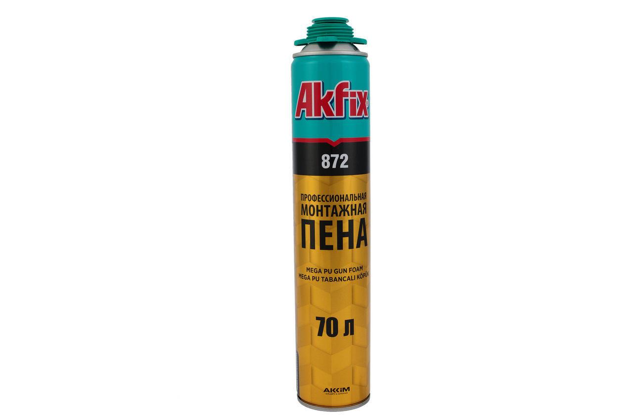 Пена Akfix - профи (872) SUPER MEGA 850 мл (70 л)