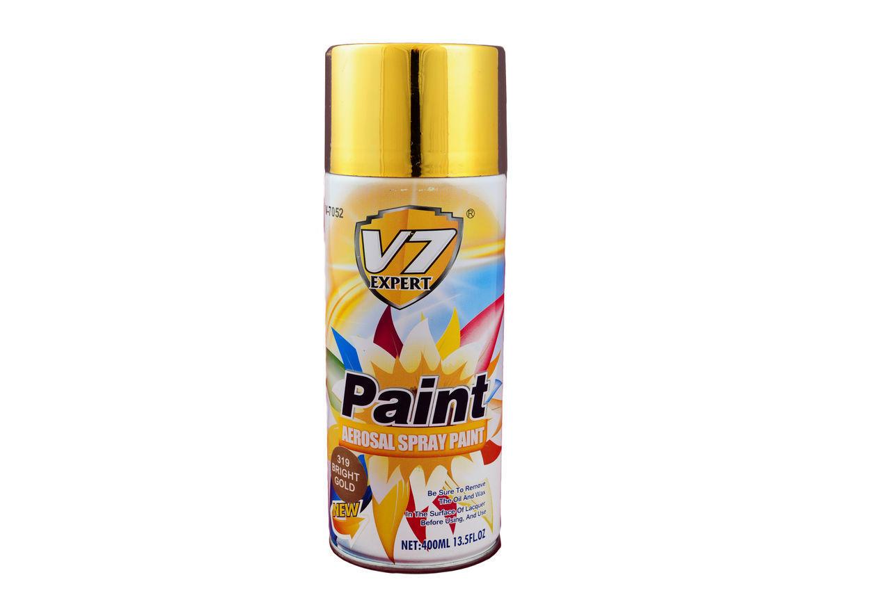 Краска аэрозольная PRC V7 - золото, 400 мл