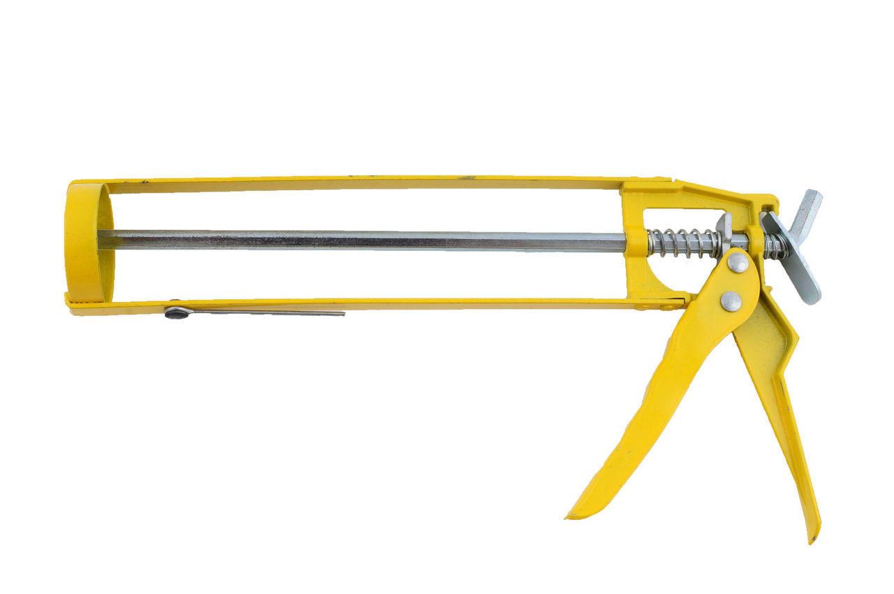 Пистолет для силикона Mastertool - скелетный, 225 мм