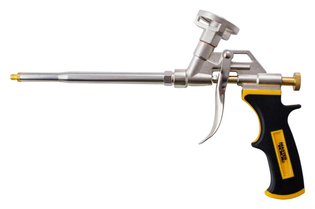 Пистолет для пены Mastertool - 290мм никель