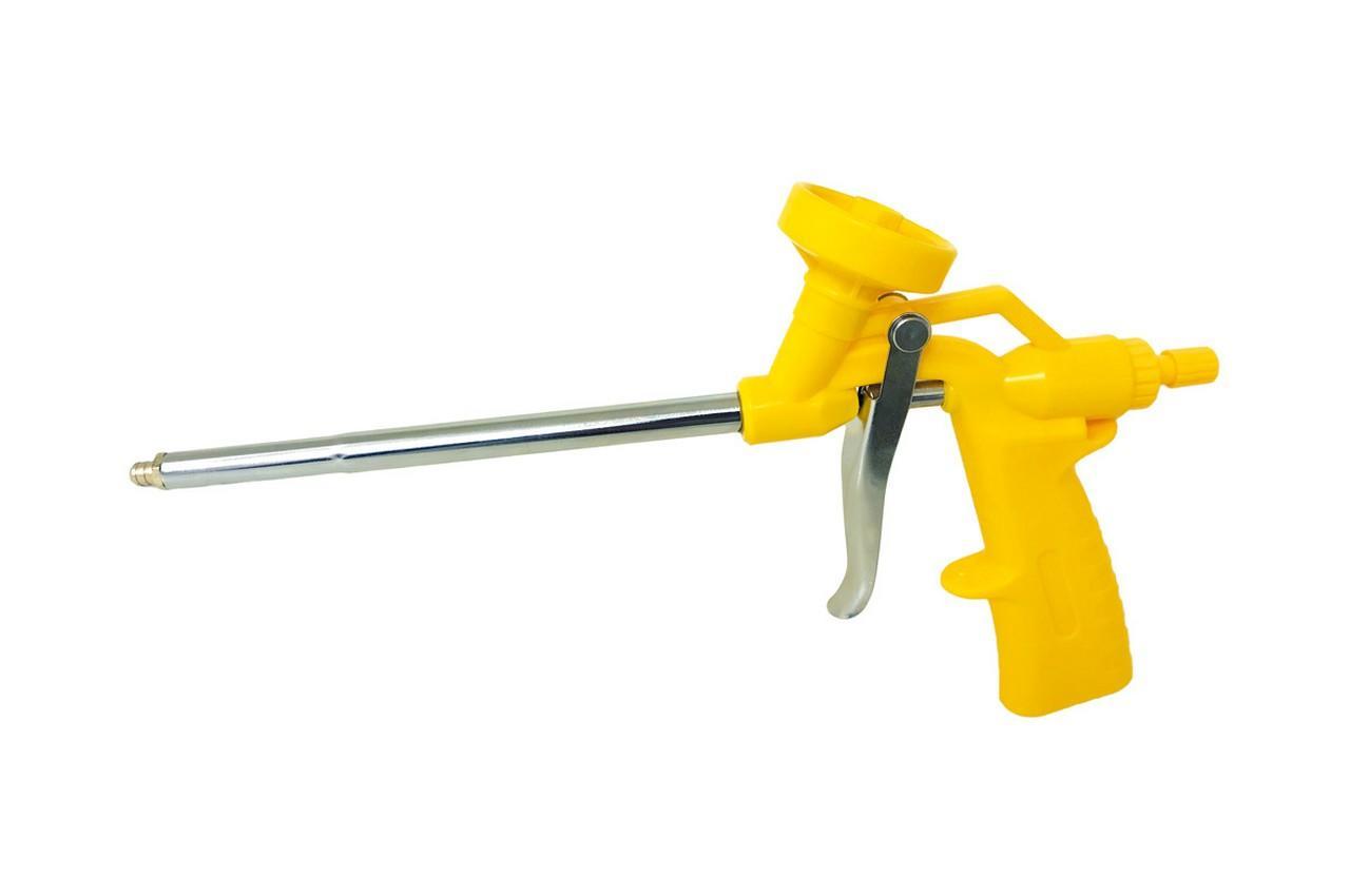 Пистолет для пены Mastertool - никель (зеленая ручка)
