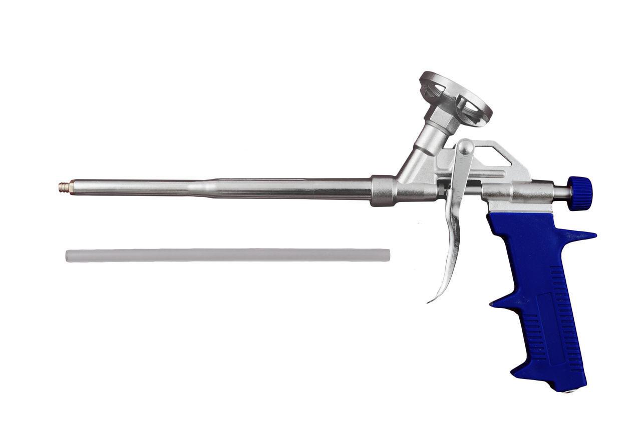 Пистолет для пены Miol - 190 мм, d=1,8 мм (синяя ручка), 81-681