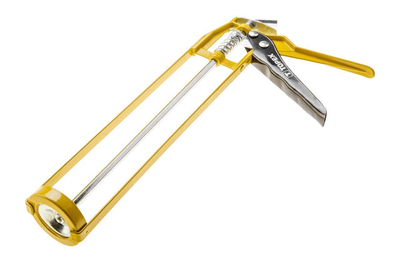 Пистолет для силикона Topex - скелетный, 225 мм