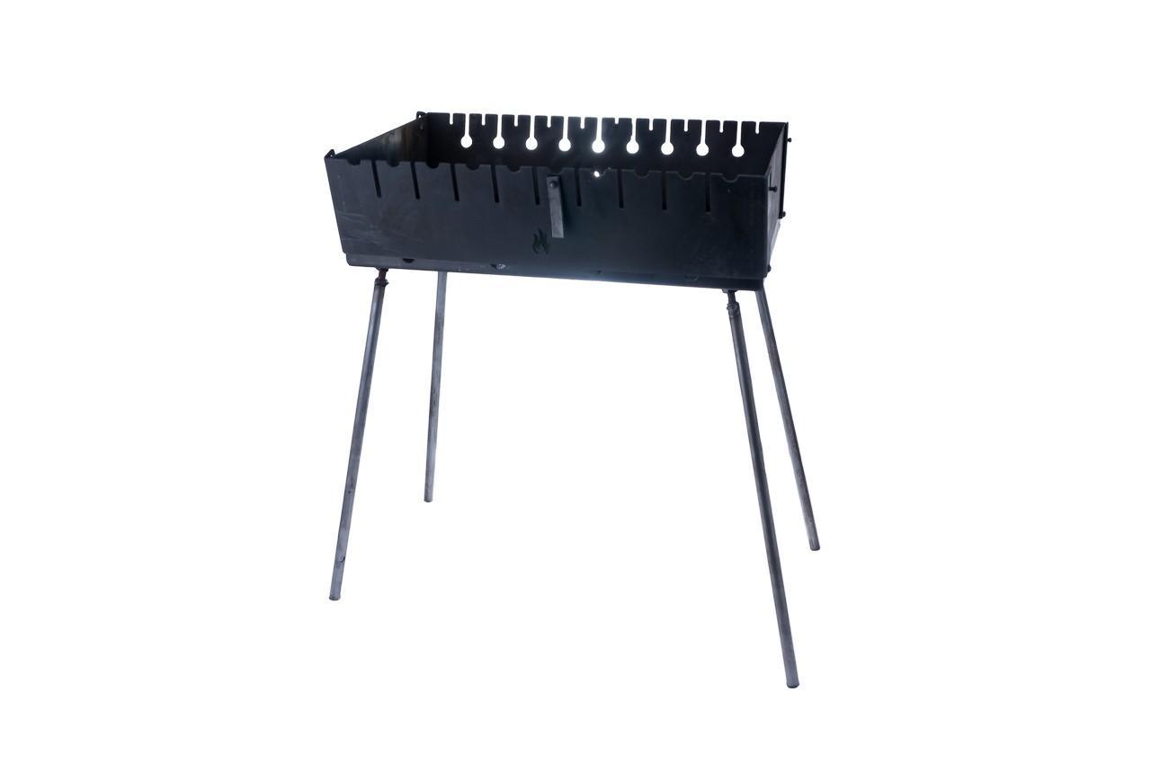 Мангал-чемодан DV - 12 шп (горячекатаный), Х4