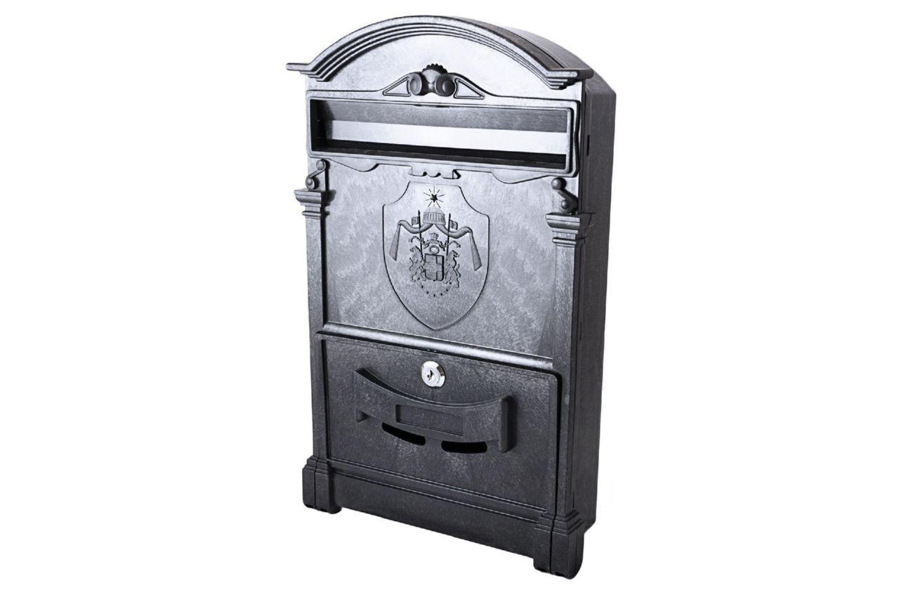 Почтовый ящик Vita - герб Англии (черный)