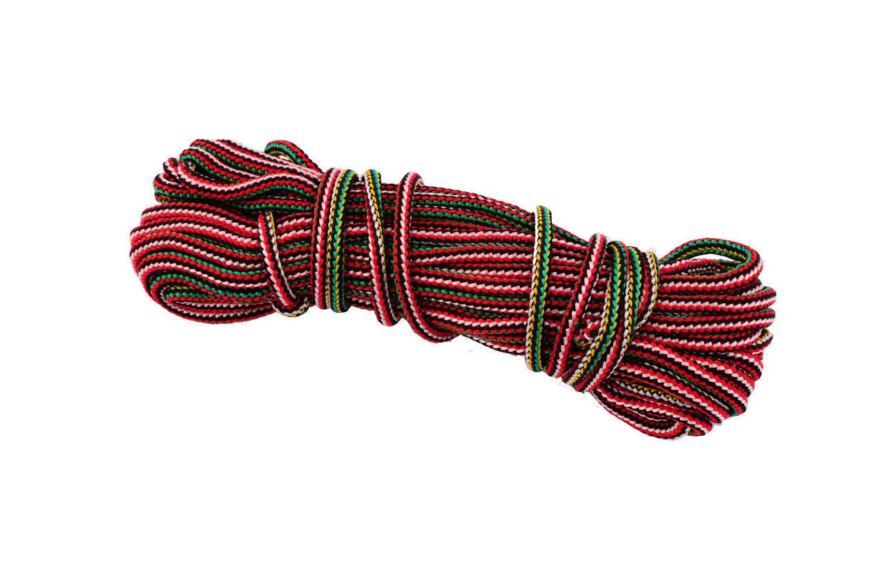 Шнур бытовой UA - вязаный 7 мм х 15 м, цветной