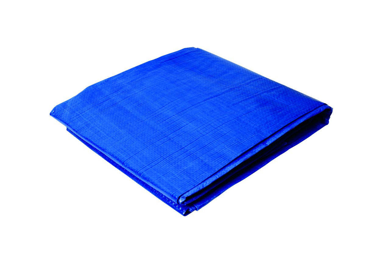 Тент Mastertool - 3 х 4 м, 65 г/м², синий
