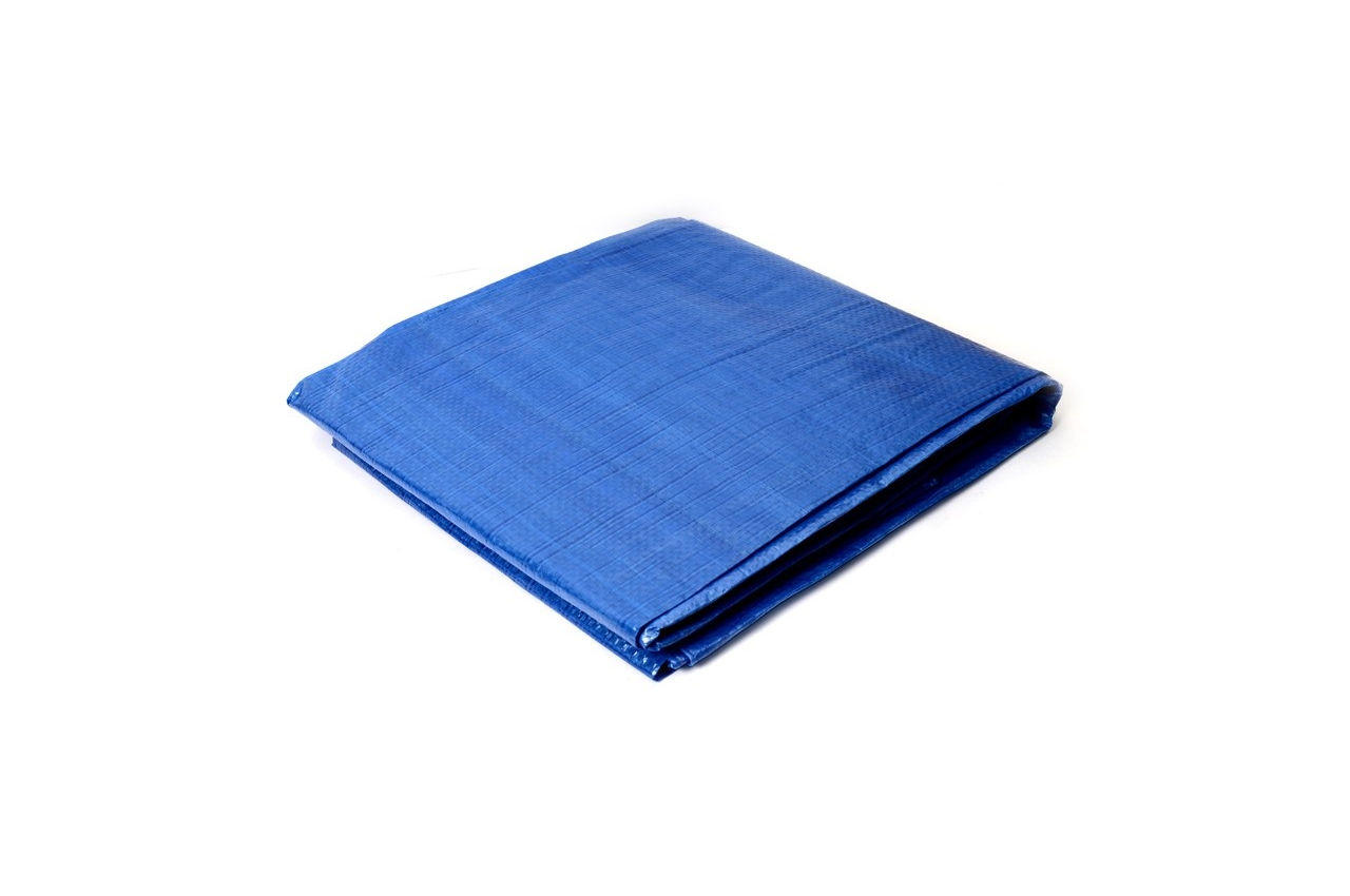 Тент Mastertool - 8 х 10 м, 65 г/м², синий, 79-9810