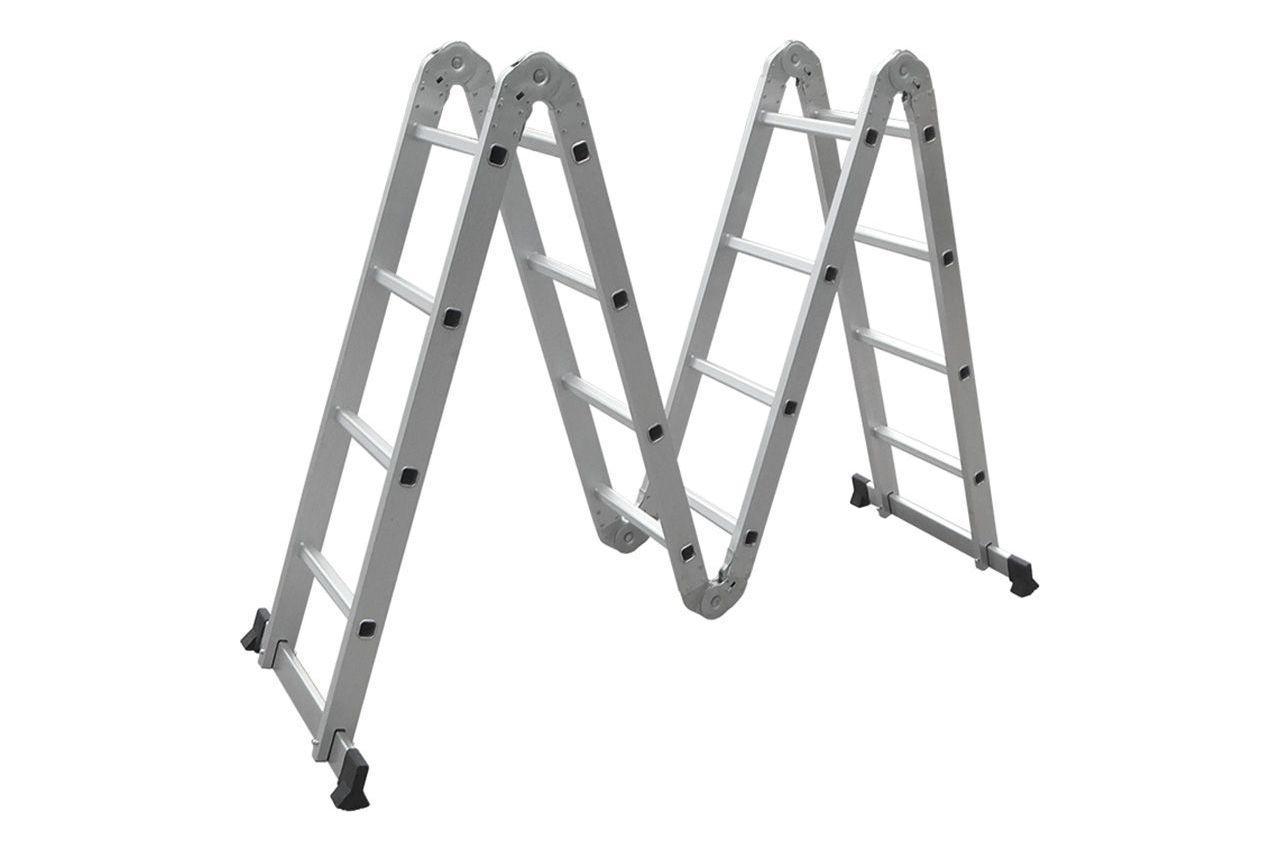 Лестница-трансформер Miol - 4 х 4 ступеньки, 4780 мм, 150 кг, 90-170