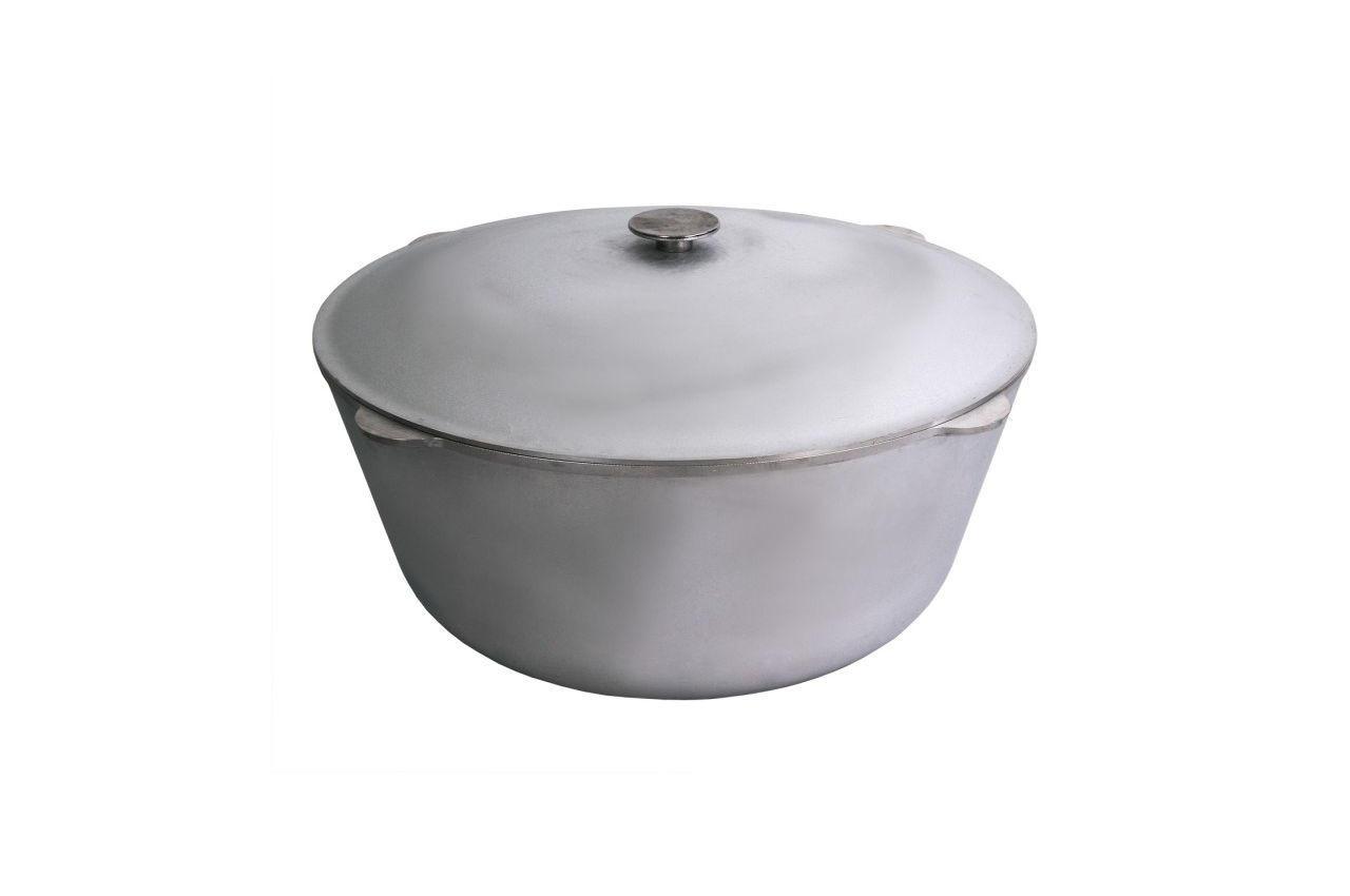 Казан алюминиевый Биол - 450 х 330 мм х 30 л, с крышкой, К3000