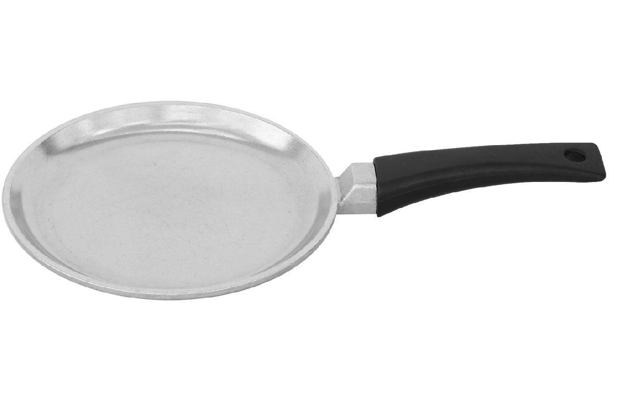 Сковорода блинная алюминиевая Биол - 200 х 20 мм, с утолщенным дном