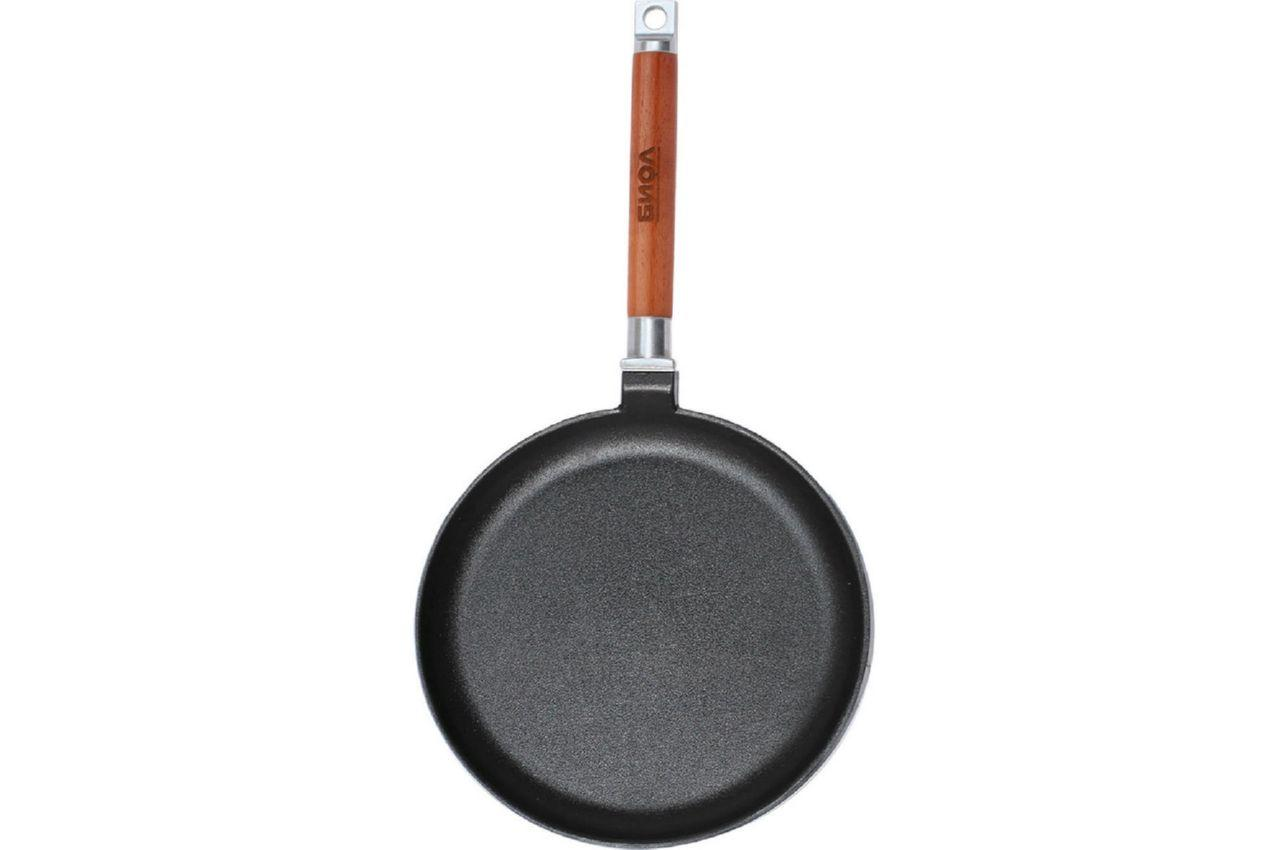 Сковорода блинная чугунная Биол - 220 х 20 мм
