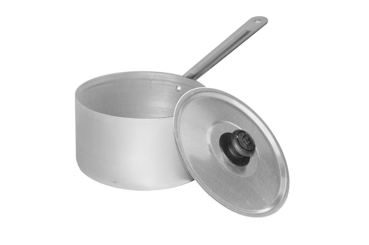 Сотейник алюминиевый Калитва - 1 л, с крышкой