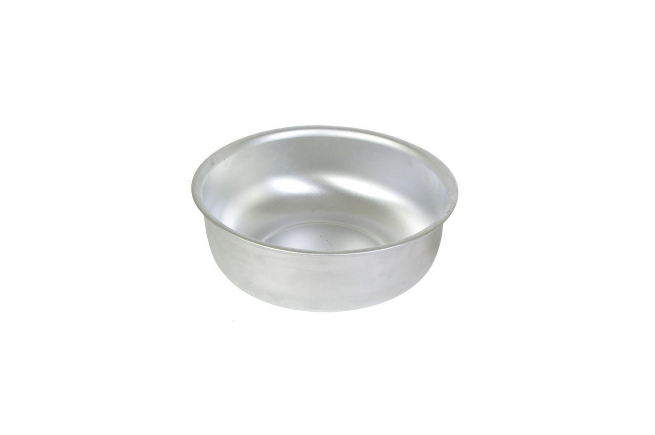 Таз алюминиевый Калитва - 10,6 л х 360 мм