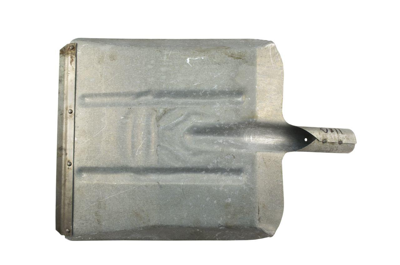 Лопата угольная ТМЗ - оцинкованная