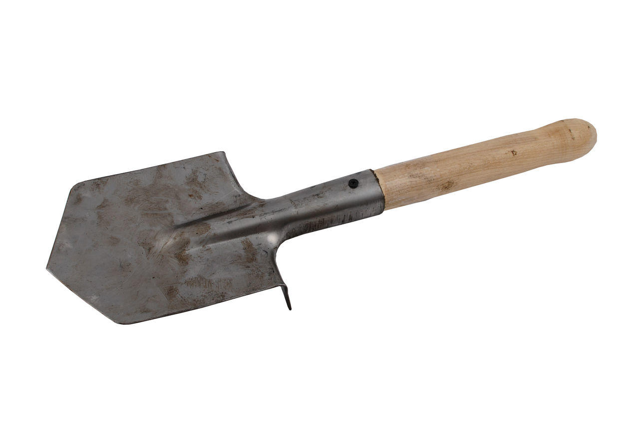 Лопата саперная ТМЗ - нержавейка, 0716