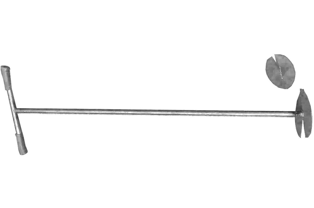 Бур садовый ТМЗ - с 2-мя насадками, 1302