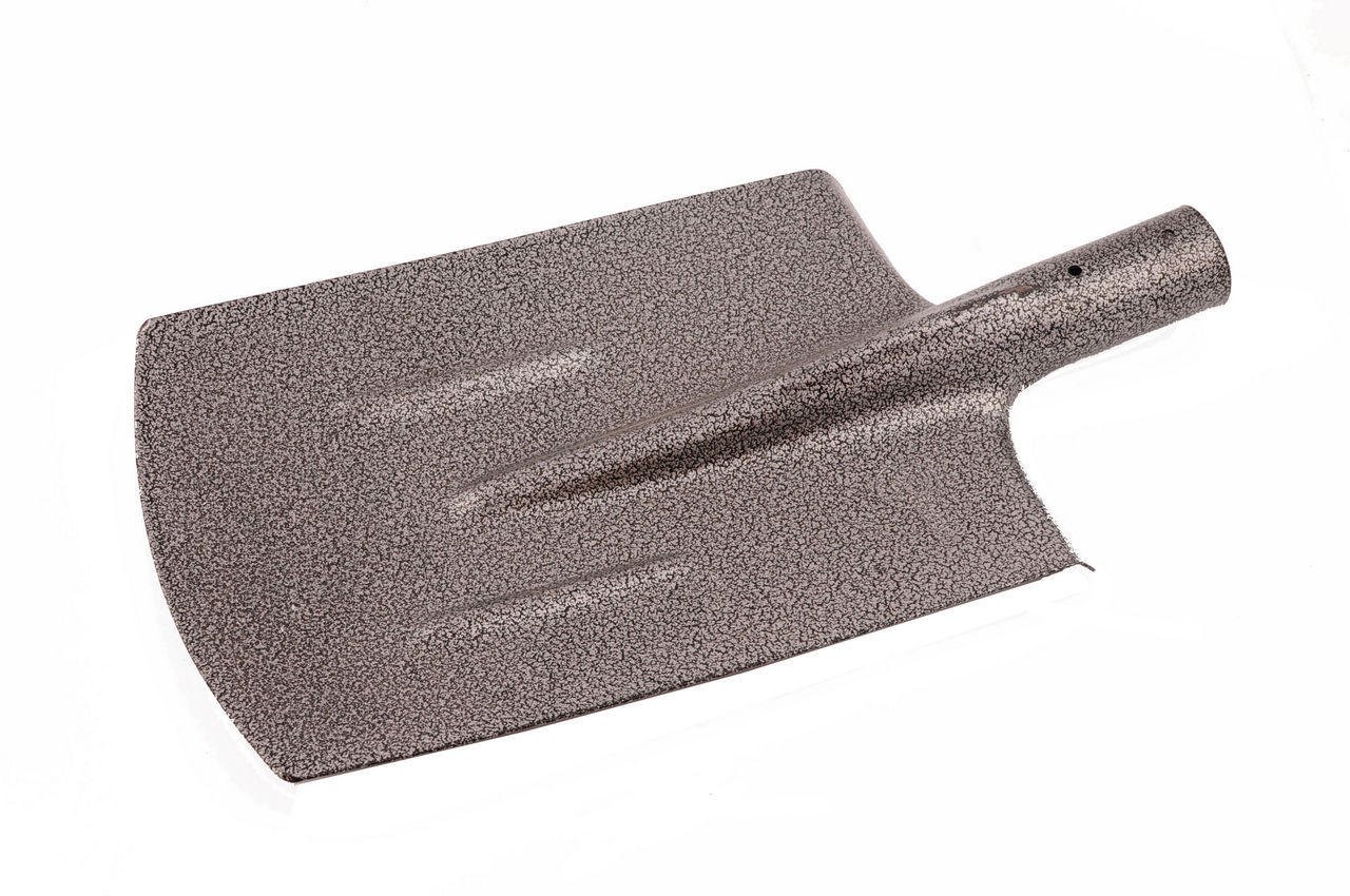 Лопата штыковая траншейная Intertool - 0,8 кг, молотковая