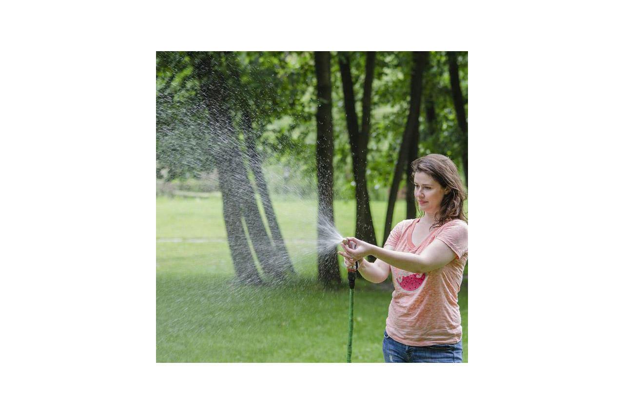 Пистолет поливочный Intertool - плавная регулировка воды 3 функции GE-0012
