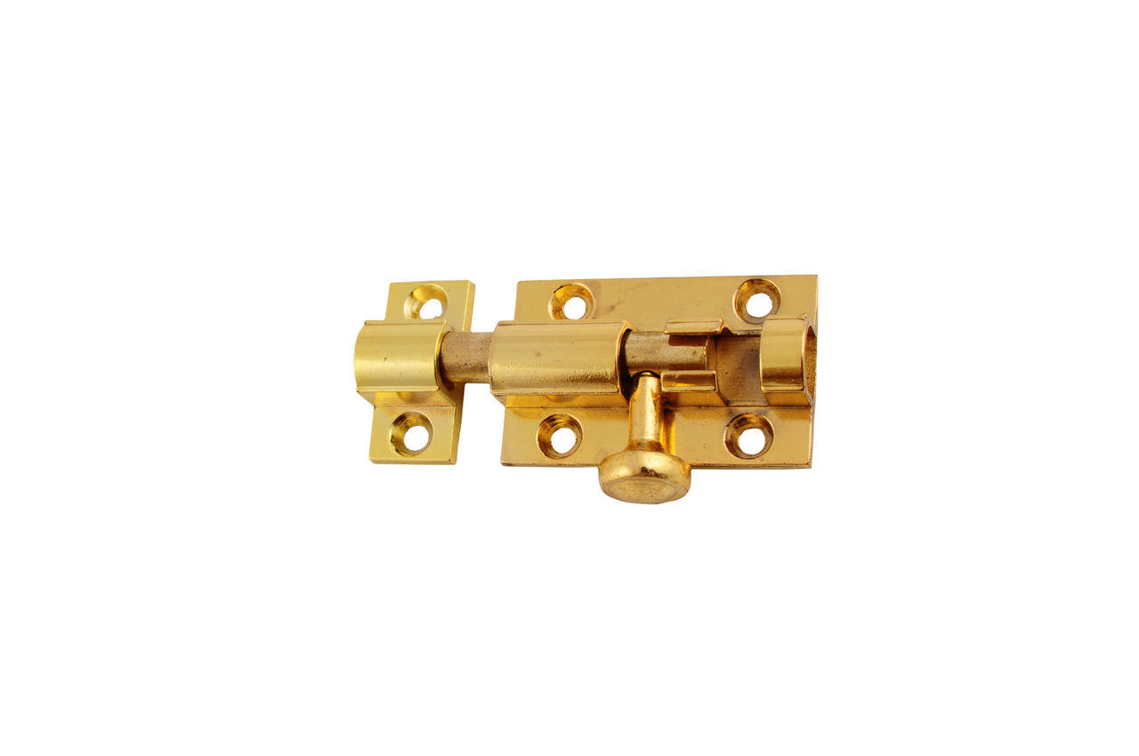 Шпингалет FZB - Лида маленький РВ (золото), 01-87-002