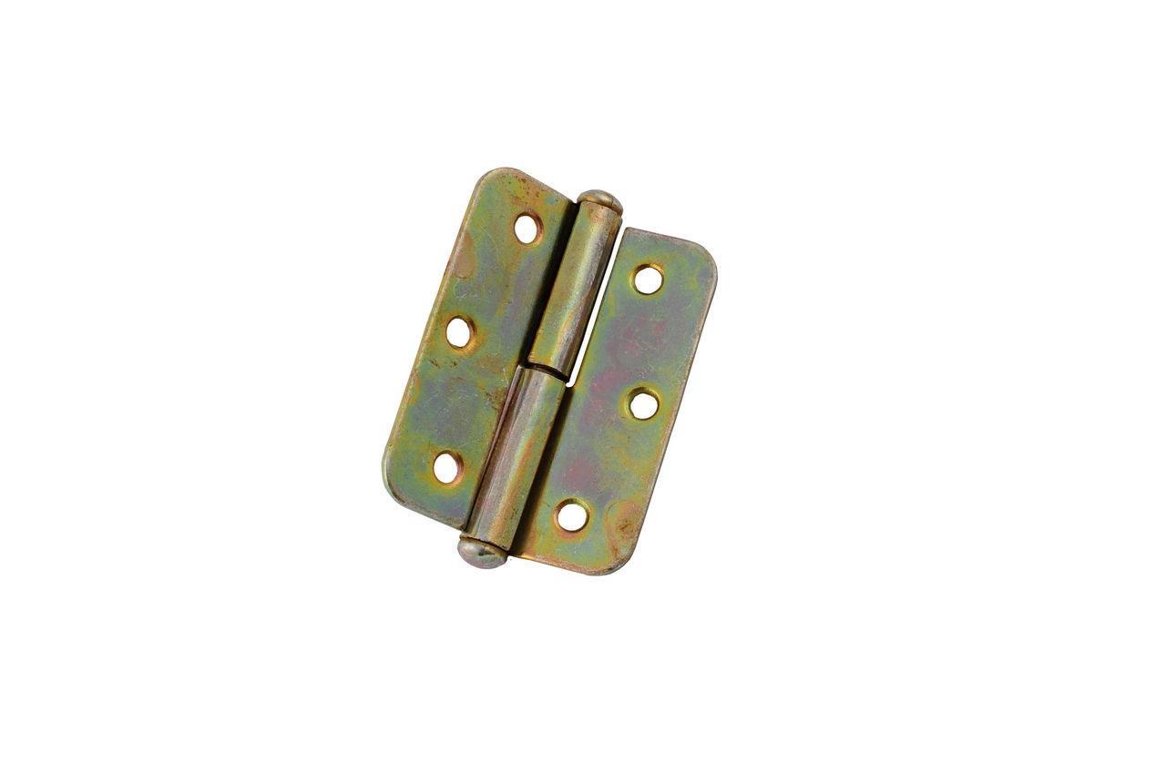 Петля UA - 70 мм, левая оцинкованная, 0674