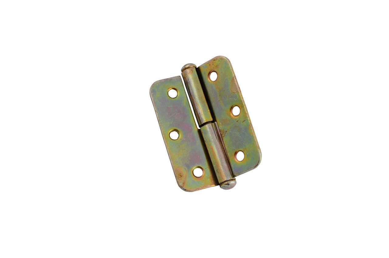 Петля UA - 85 мм, правая оцинкованная, 0679