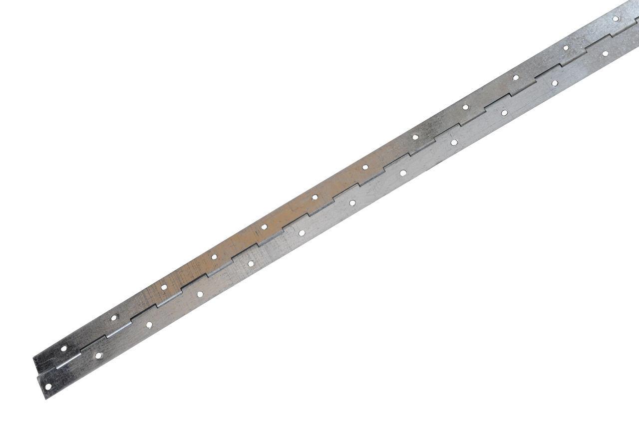 Петля рояльная Никифоров - 500 мм, оцинкованная, 0690