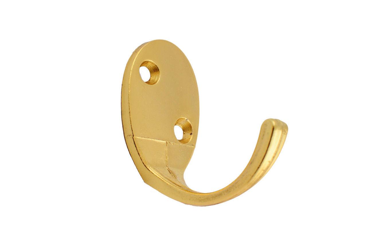 Крючок FZB - одинарный 03-08 РВ (золото), 03-08-001