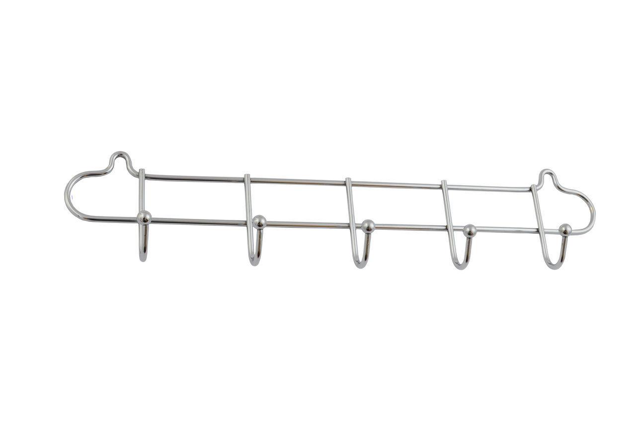 Крючок FZB - 5 крючков 03-62 CP (хром)