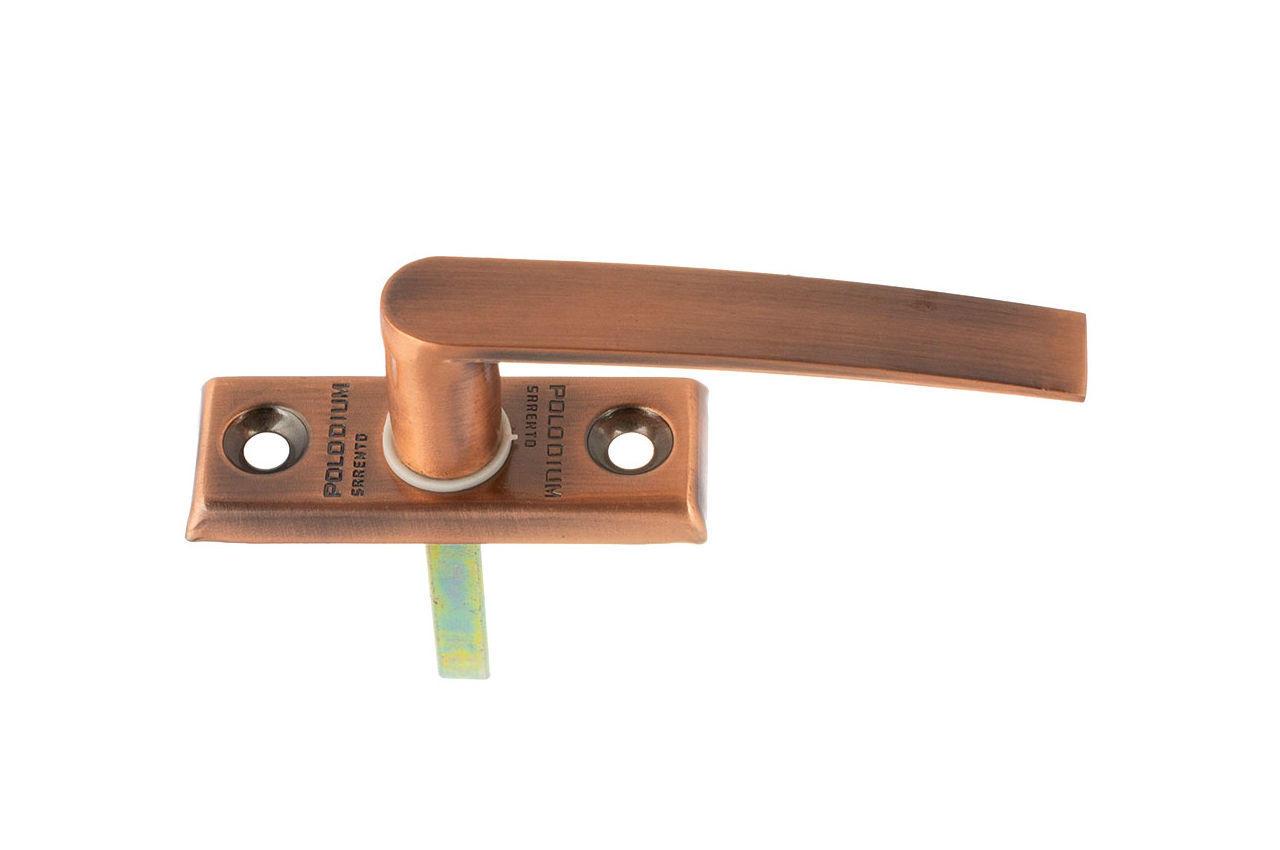 Ручка оконная FZB - Polodium AC (медь)