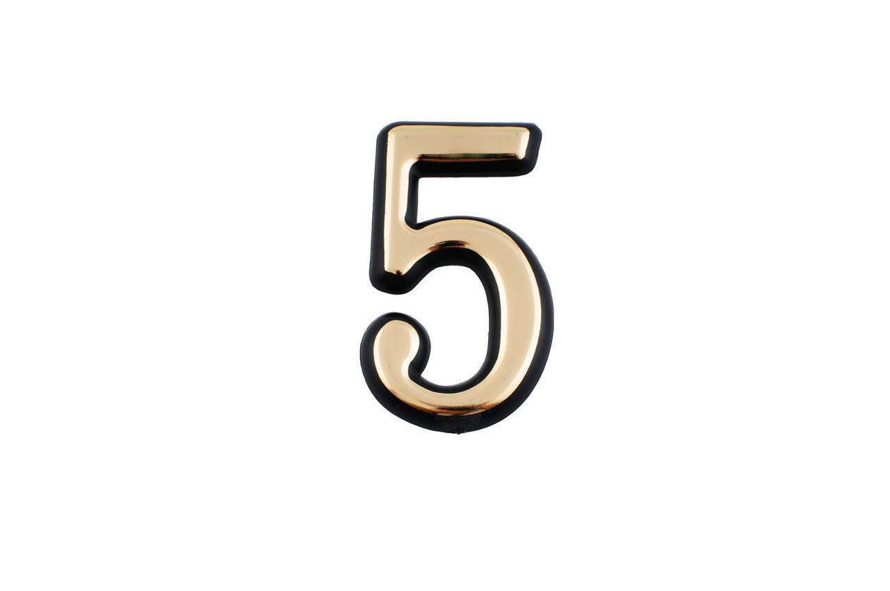 Номер дверной FZB - № 5 (большой)