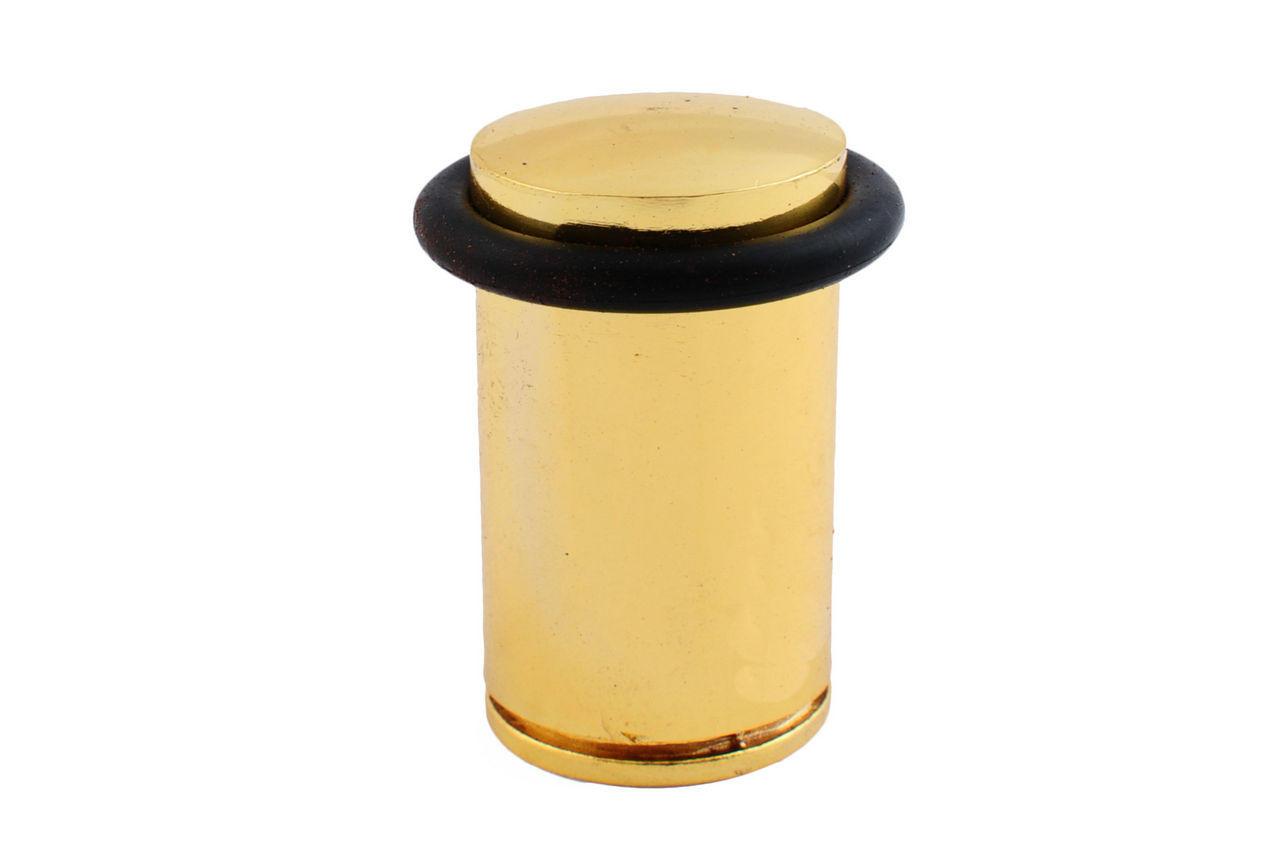 Упор дверной FZB - бочка 60 мм, РВ (золото), 01-03-012