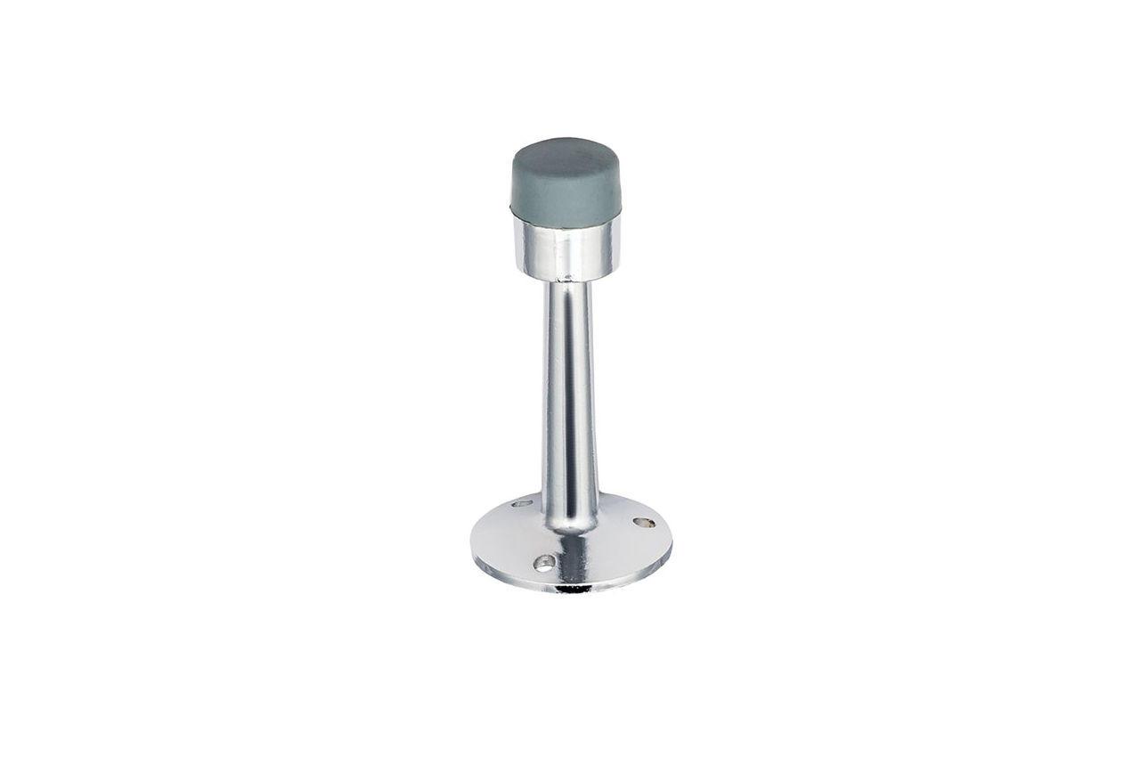 Упор дверной FZB - высокий 75 мм, СР (хром), 01-01-002