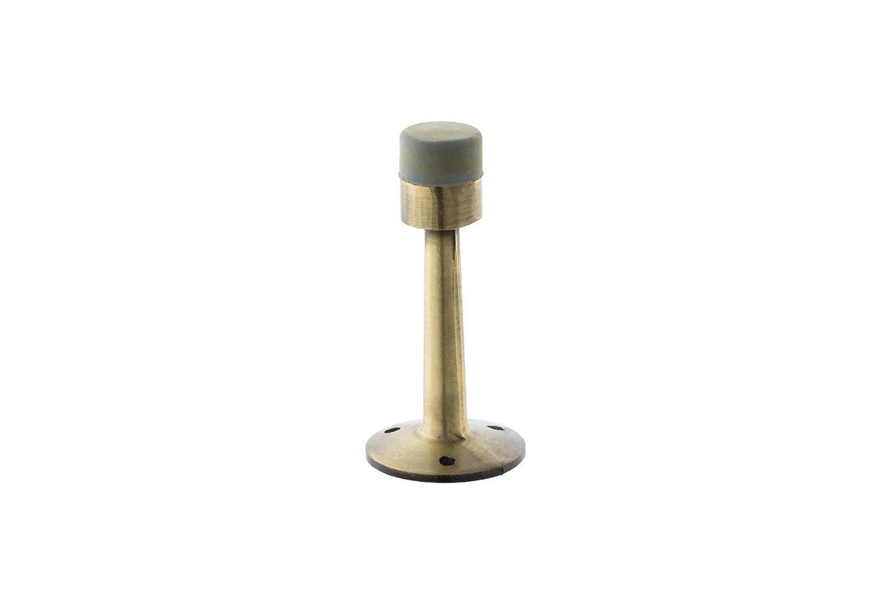 Упор дверной FZB - высокий 75 мм, AB (бронза)