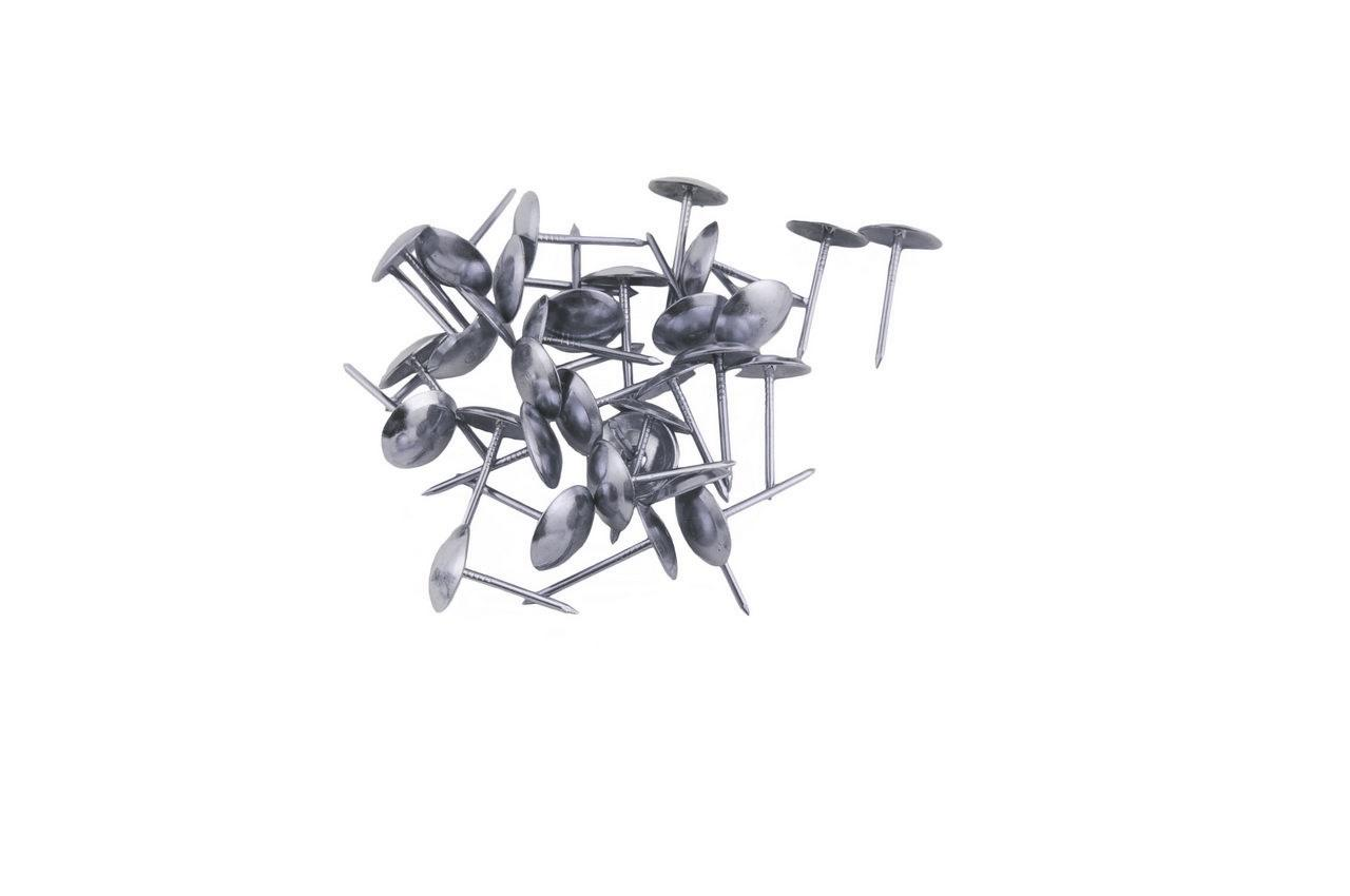 Гвозди мебельные FZB - гладкие CP (хром), 01-30-002