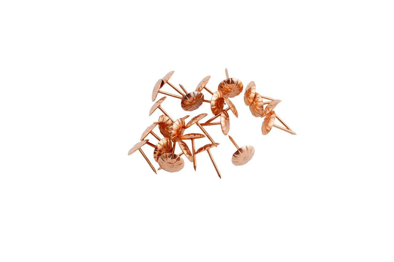 Гвозди мебельные FZB - декоративные AC (медь), 01-29-003