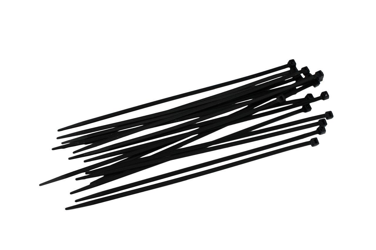 Хомут пластиковый Intertool - 2,5 х 100 мм, черный (100 шт.)
