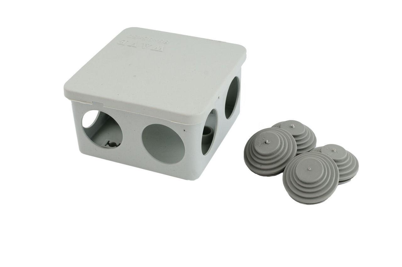 Коробка распределительная Wave - наружная 85 х 85 х 50 мм