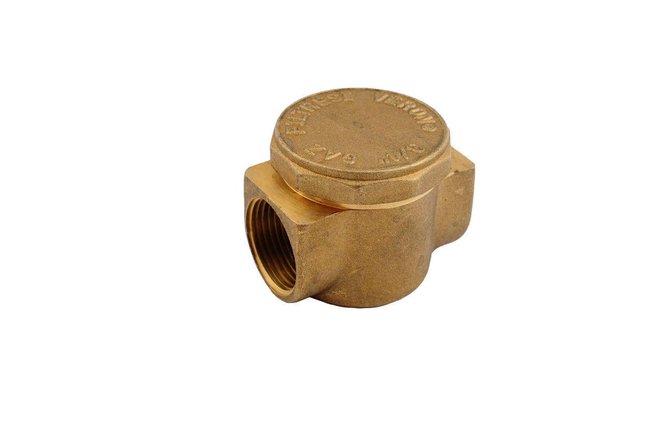 """Фильтр для газа латунь Никифоров - 1/2""""В х 1/2""""В, 0791.3"""