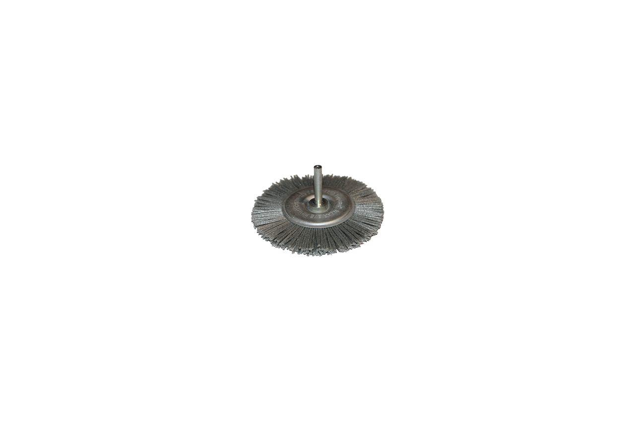 Щетка пиранья дисковая на дрель Pilim - 75 мм х P80