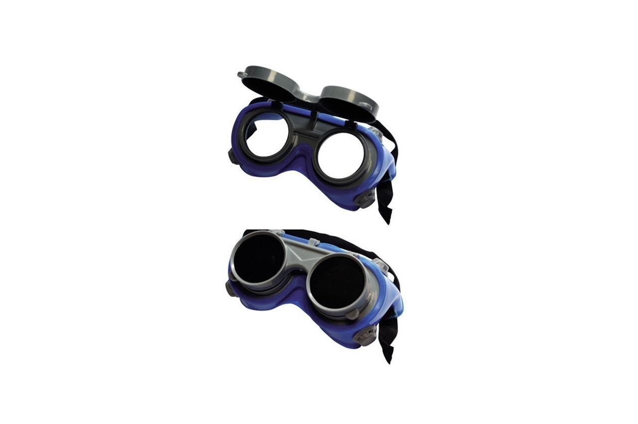 Очки сварочные Mastertool - откидные круглые