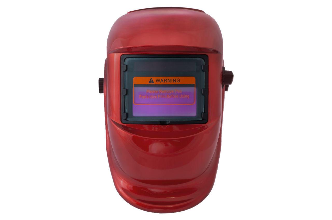 Маска сварочная Асеса - хамелеон TH-41-C300 красная 1 шт.