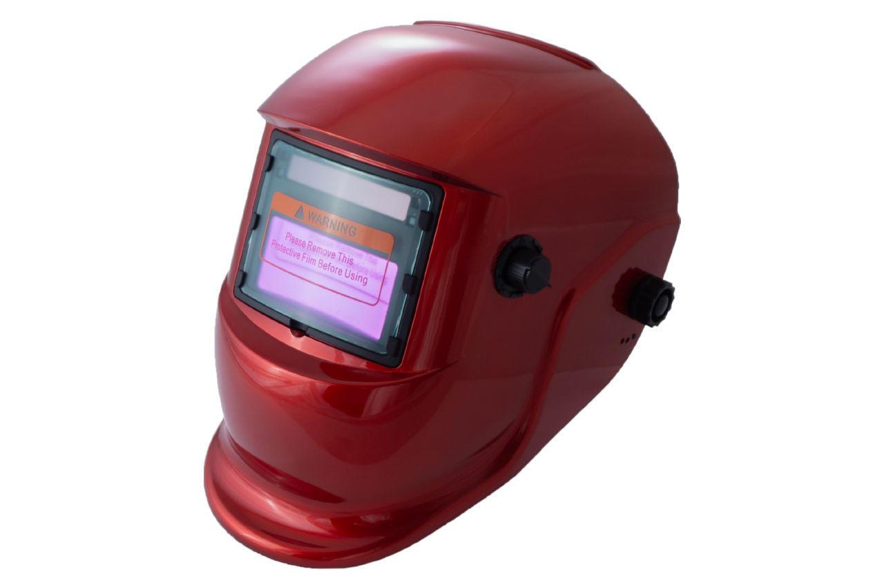 Маска сварочная Асеса - хамелеон TH-41-C300 красная
