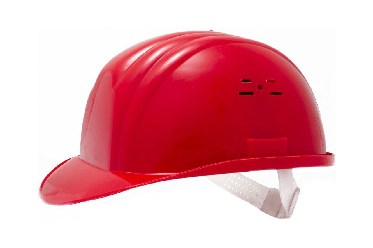 Каска строительная Vita красная