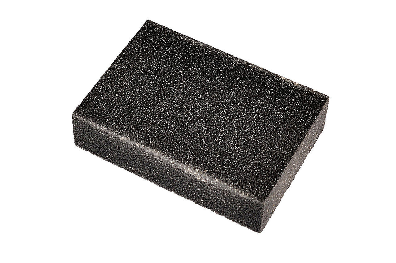 Губка шлифовальная Mastertool - 100 х 70 х 25 мм, P240, 08-0324