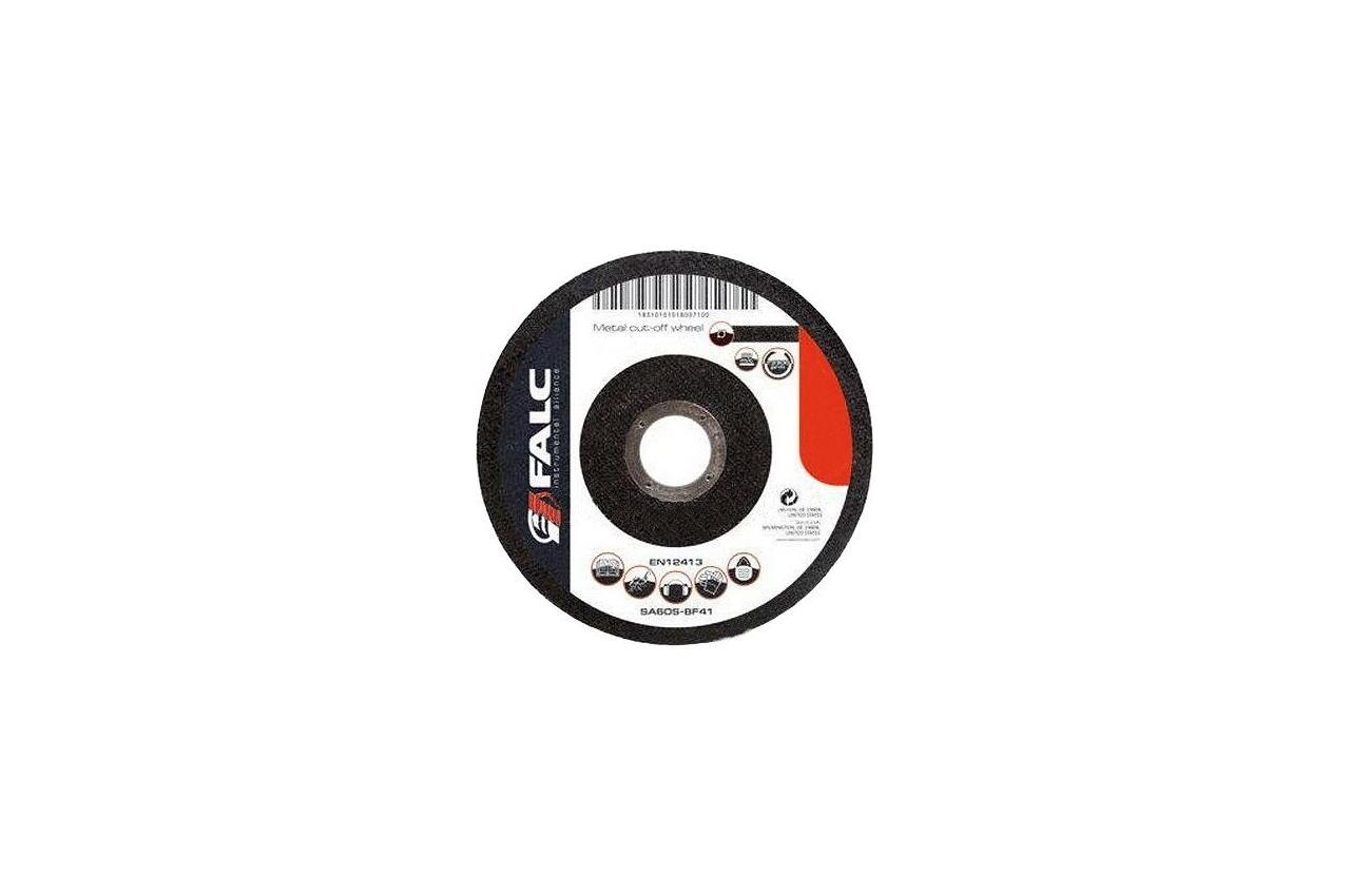 Круг зачистной Falc - 125 х 6,0 х 22,2 мм, прямой, F-07-602