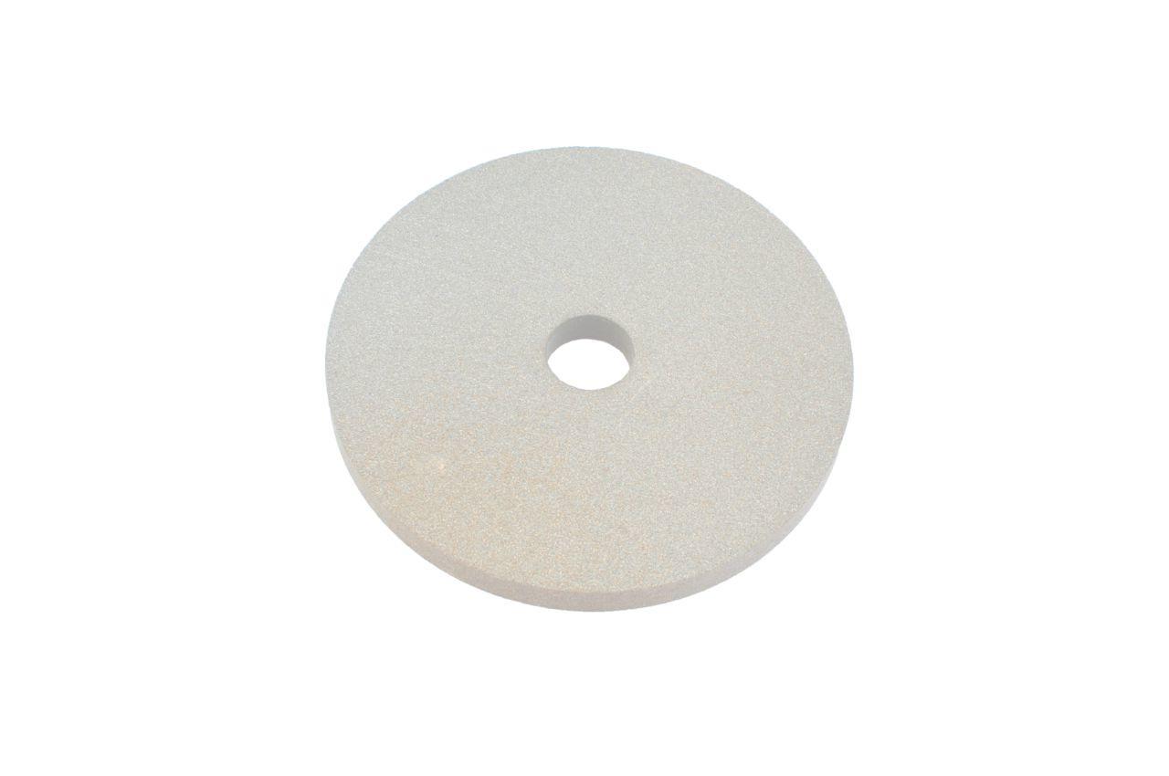 Круг керамика ЗАК - 100 х 20 х 20 мм (25А F80) белый