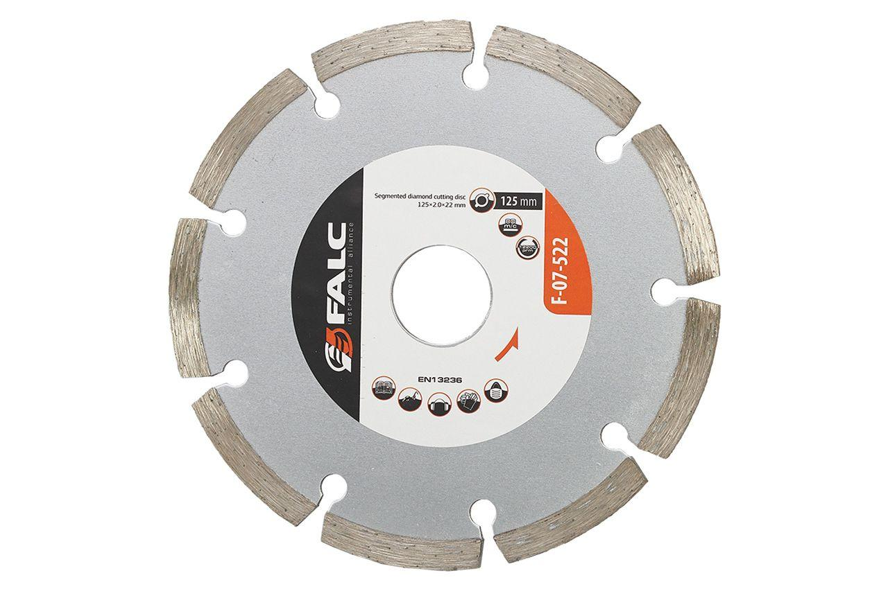 Диск алмазный Falc - 125 мм, сегмент
