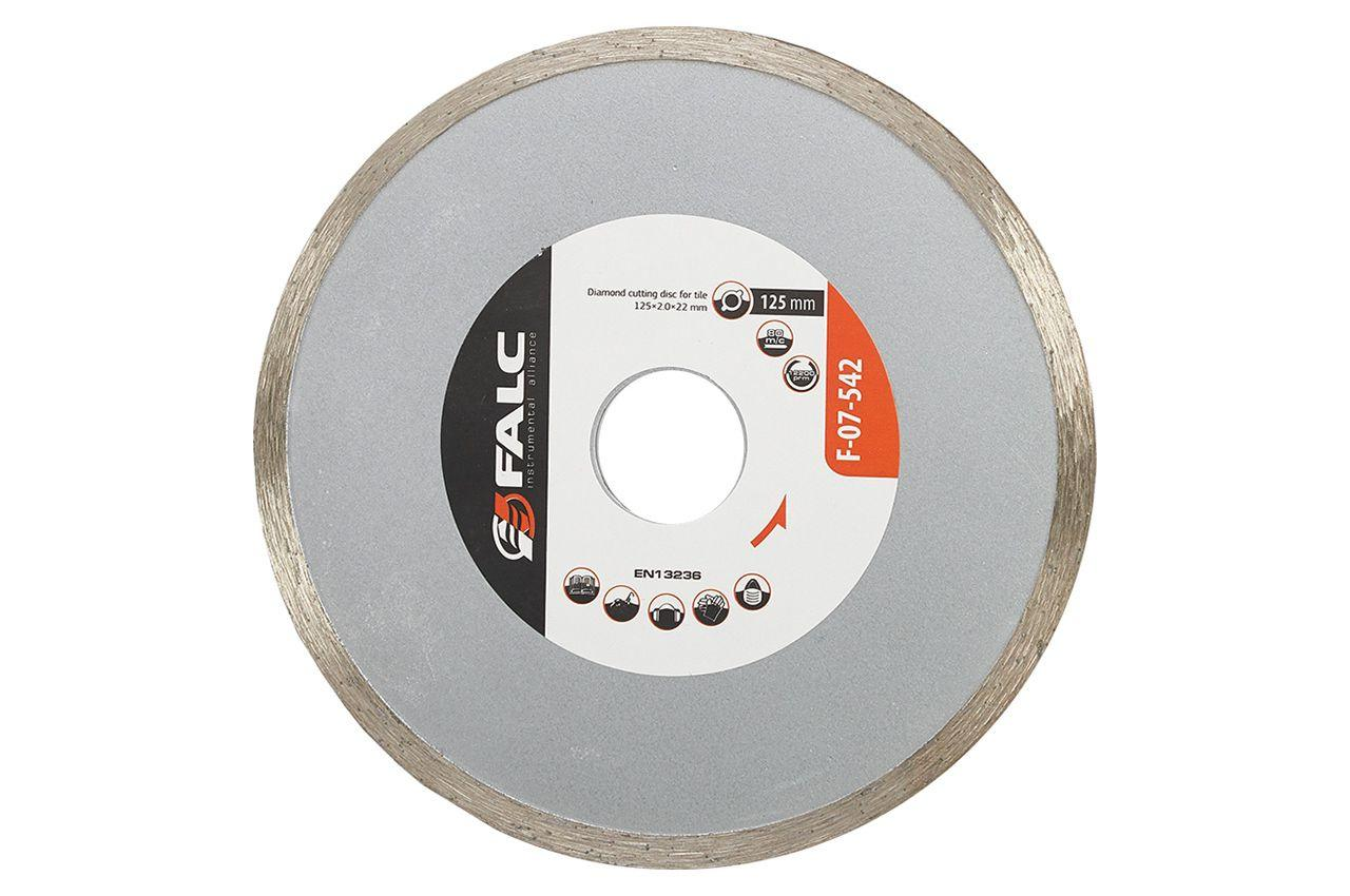 Диск алмазный Falc - 125 мм, плитка